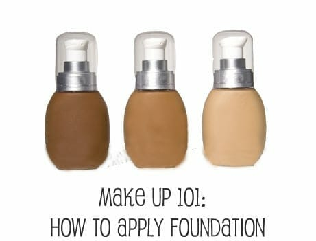 Make Up 101: How to Apply Foundation - Hot Beauty Health