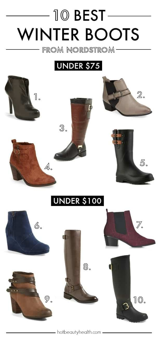 winter boots for cheap nordstrom