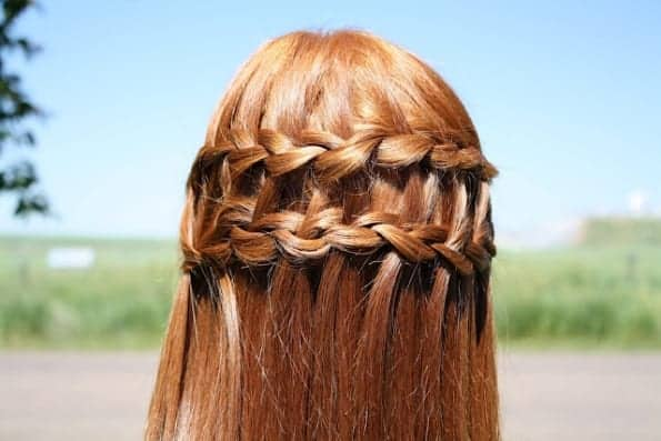 20+ DIY Waterfall Braid Tutorials