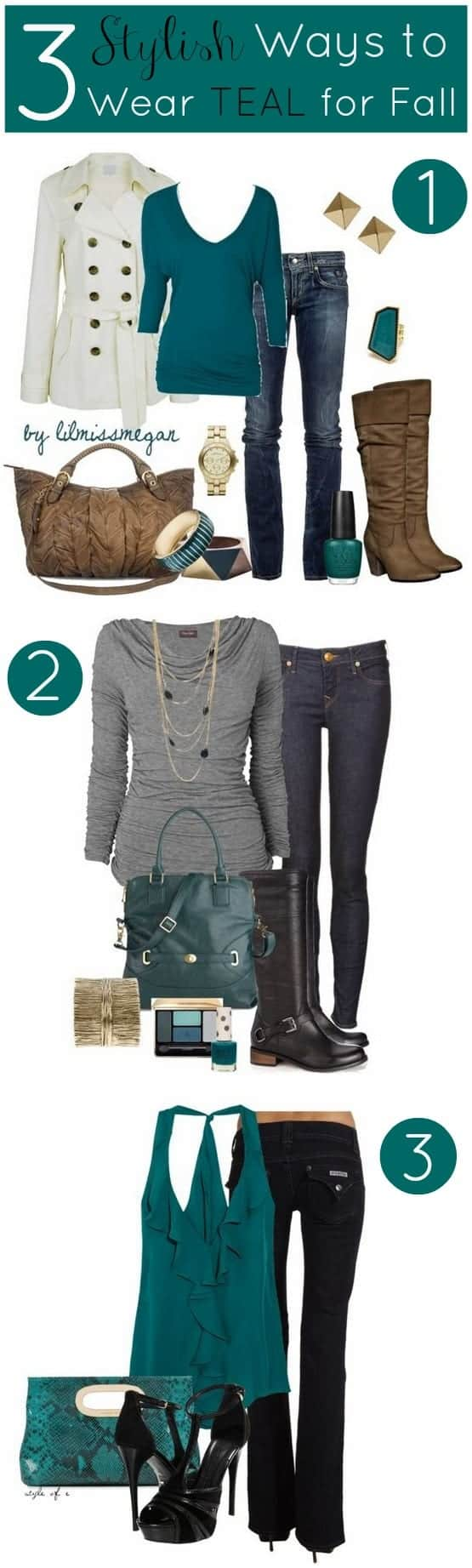 teal fall color trend