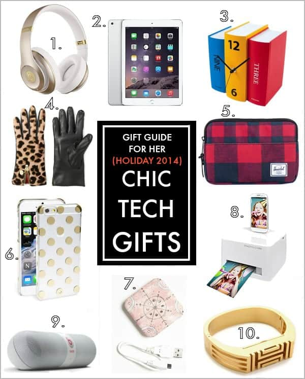 Holiday Gifts: 10 Stylishly-Chic Tech Gadgets