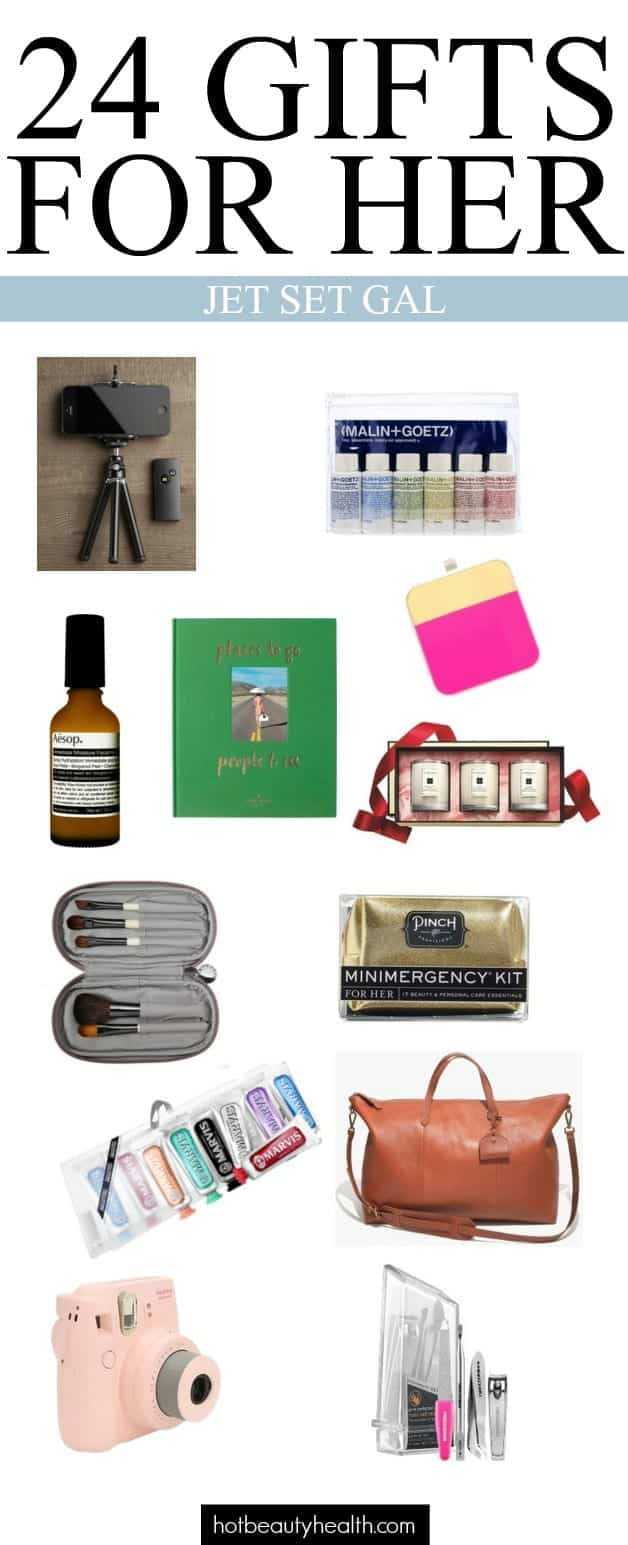 gifts for her jet set gal