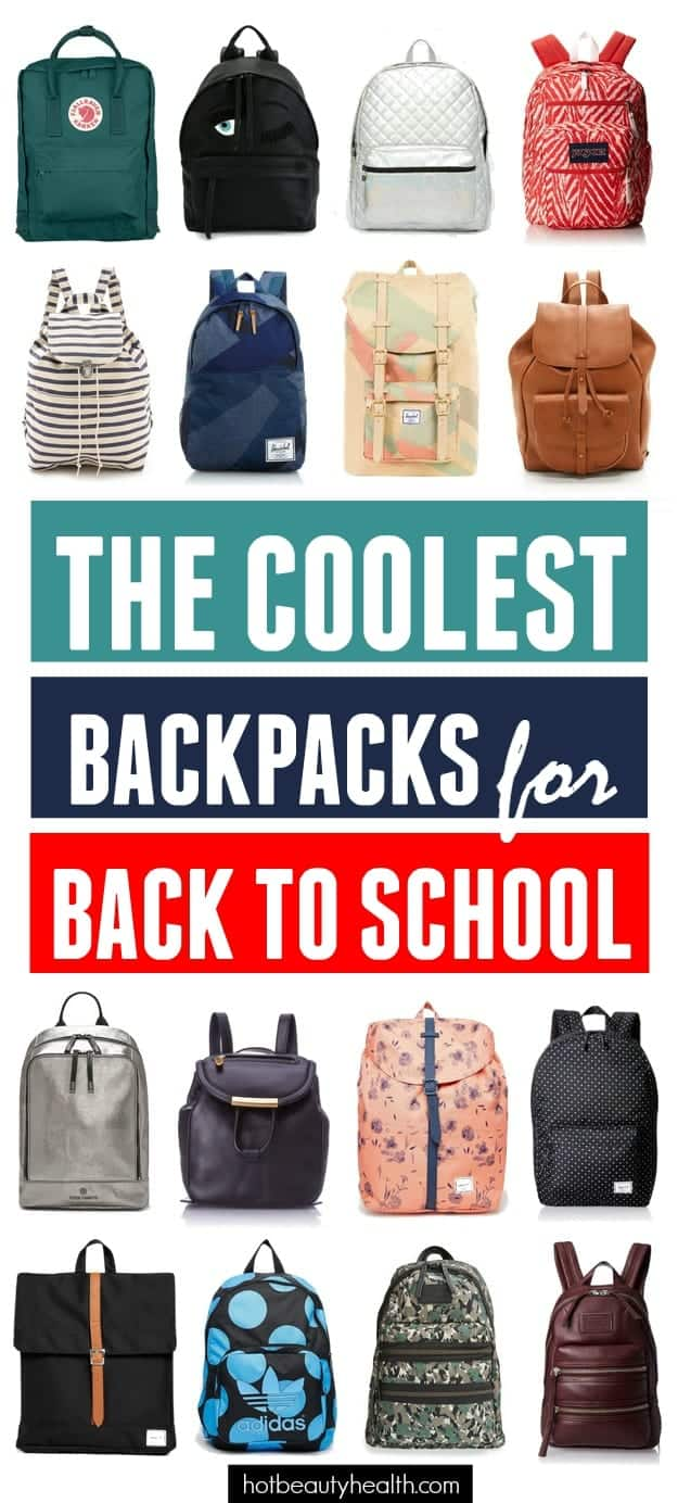 The Coolest Backpacks for Back to School