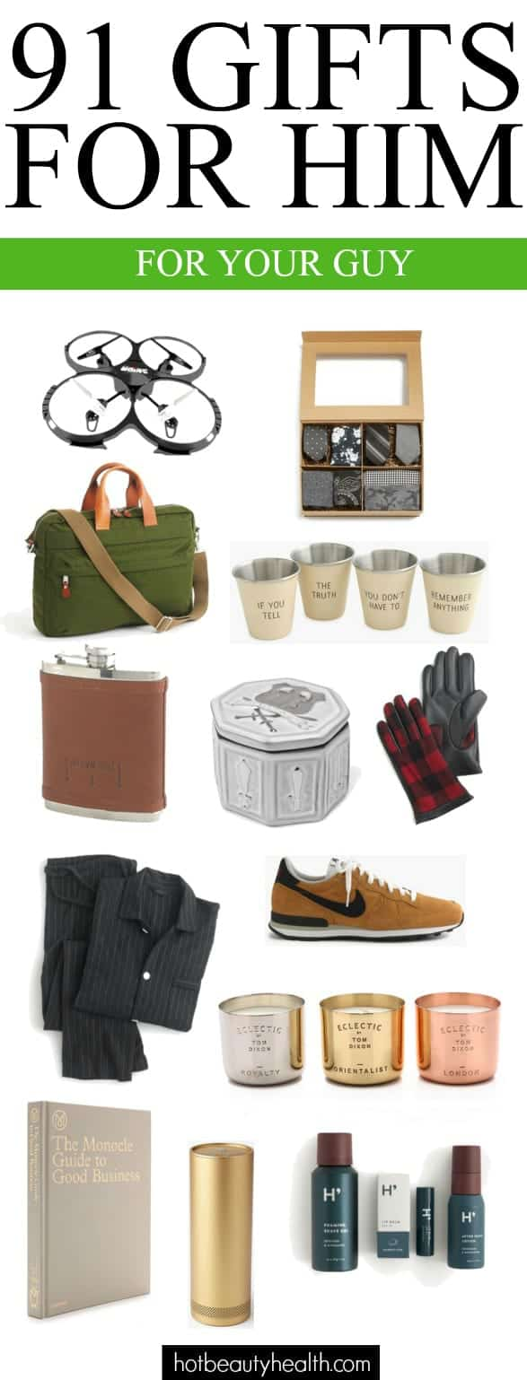 100 gift ideas for the guy s in your life for Gifts for men friends