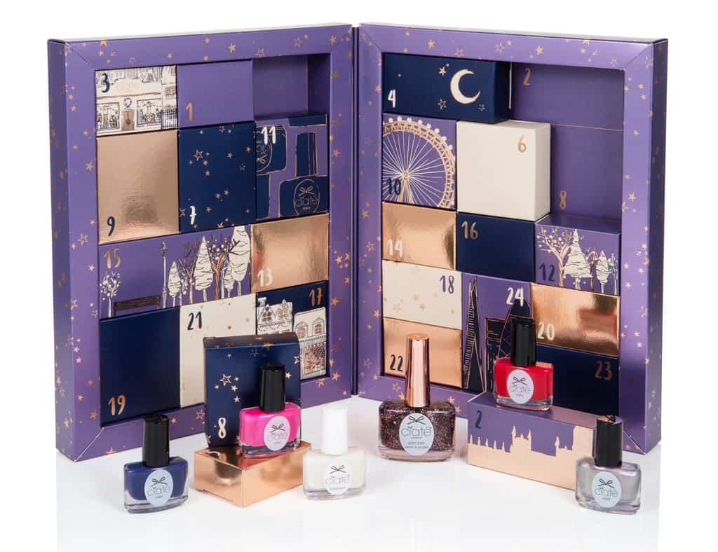 ciate mini mani month 2016,   beauty advent calendars