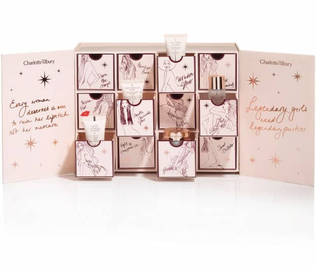 charlotte tilbury charlotte's world of legendary parties advent calendar