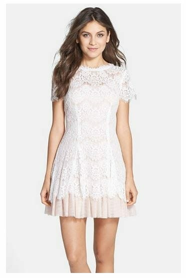 11 Best White Lace Dresses From Nordstrom