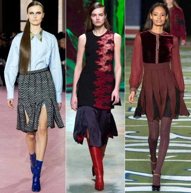 fall 2015 fashion trends slit skirts