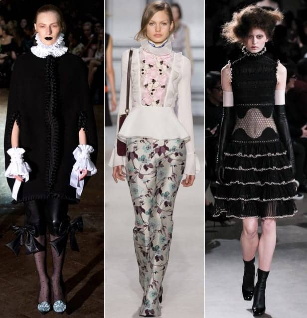fall 2015 fashion trends victorian