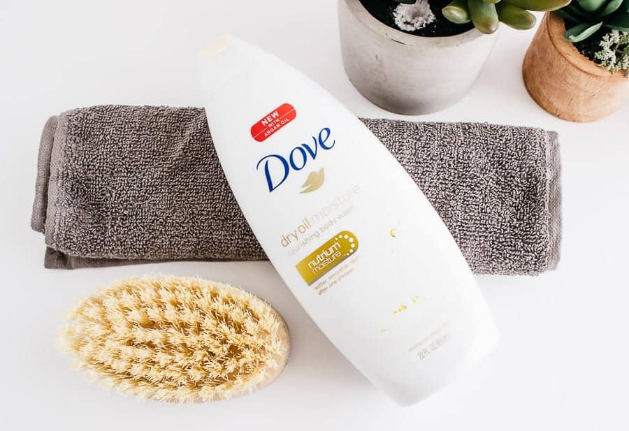 dove moisture body wash