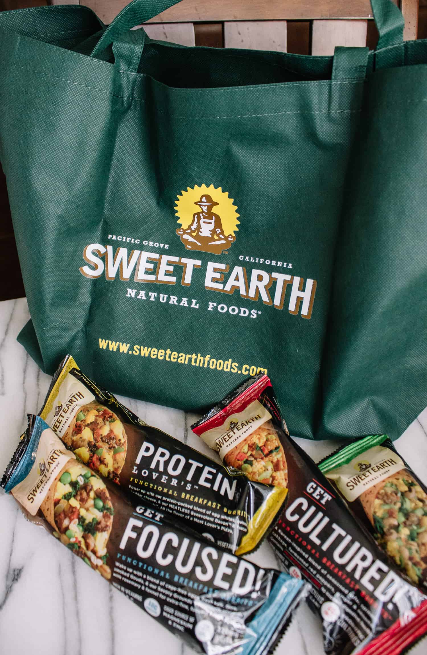 sweet earth functional breakfast burritos