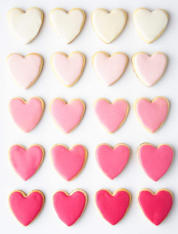Recipe: Valentine's Day Heart Shaped Sugar Cookies with Royal Icing