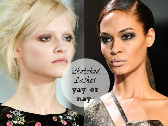 Trend Report: Sketched Lashes… Yay or Nay?