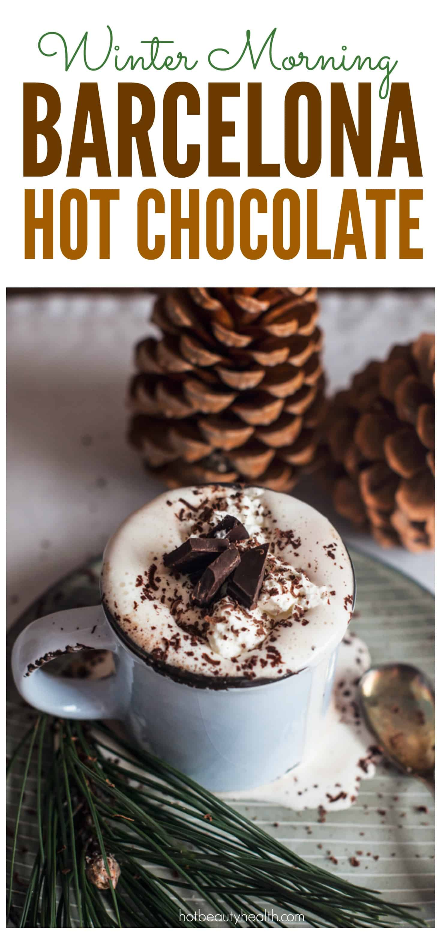 Looking for warm winter morning drink ideas? This Barcelona Hot Chocolate recipe is so simple and delicious, and will keep you and the whole family cozy this cold season. Click here for the recipe!