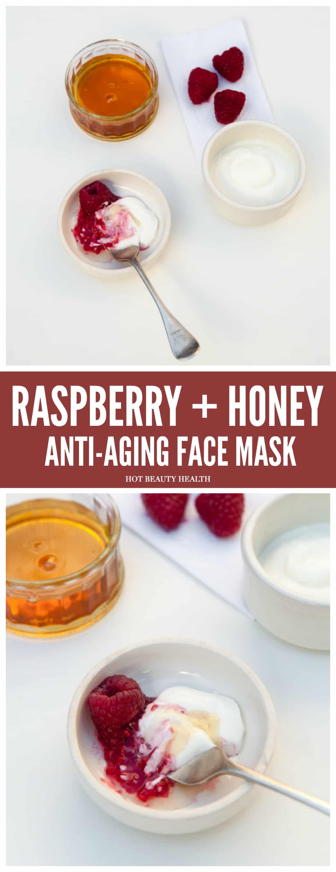 DIY Beauty: This anti-aging raspberry honey face mask can help reduce wrinkles,   treat discoloration and hyperpigmentation,   and tighten loose skin.