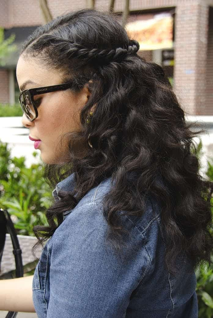 10 Easy Half Up Half Down Hairstyles for Natural Hair Gals