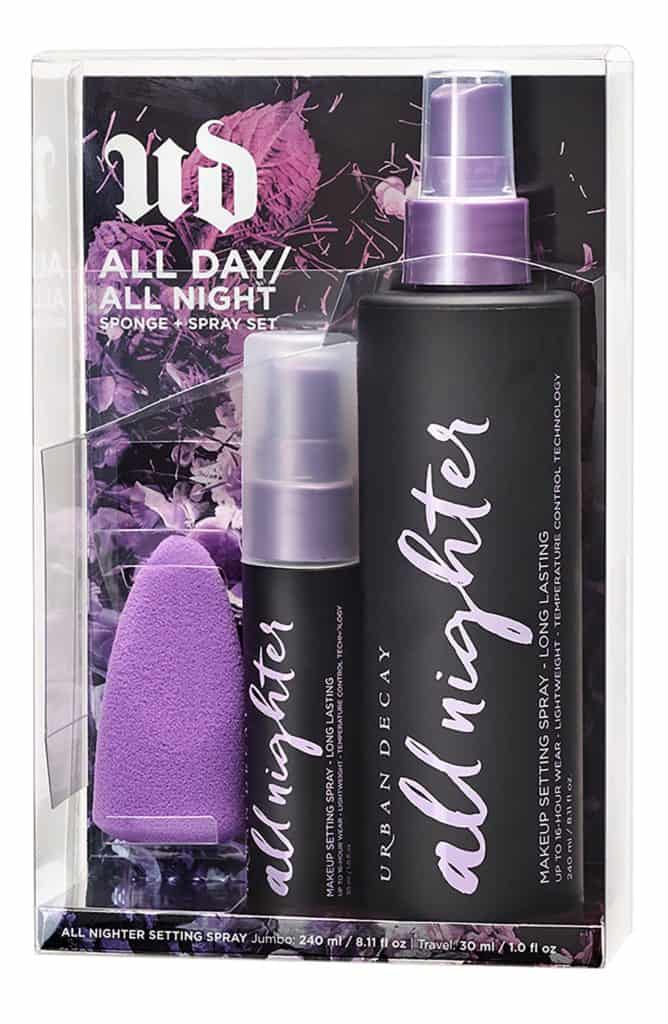 urban decay All Day All Night Sponge and Spray Set